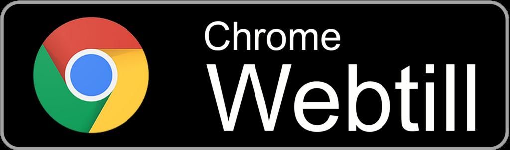 Chrome webtill button