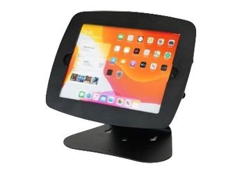 iPad in stand
