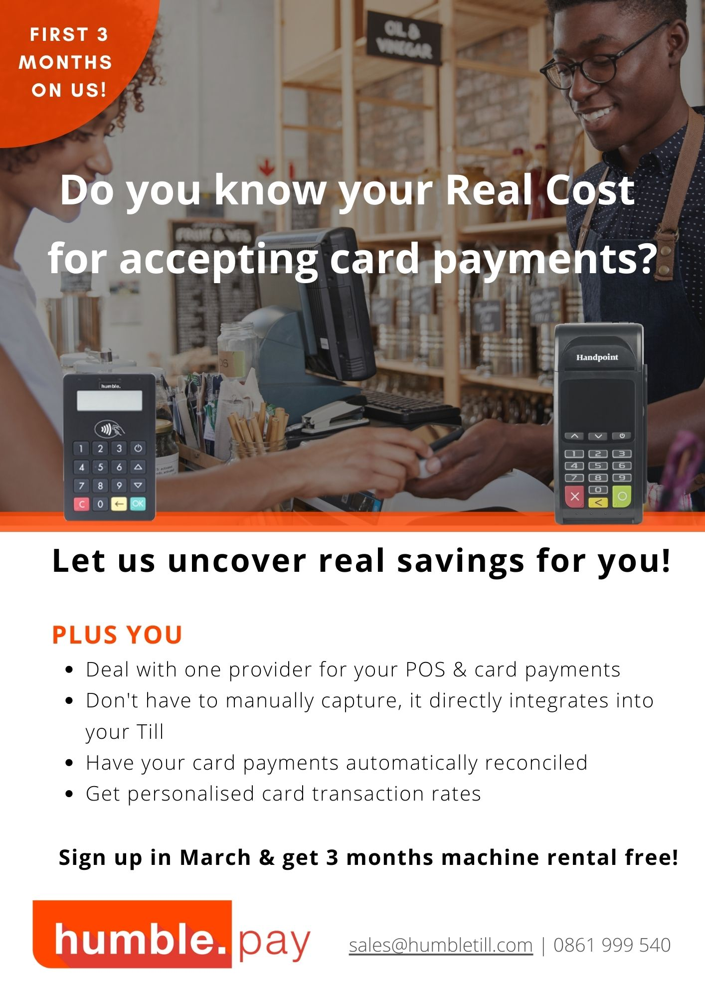 Card payment promotional offer